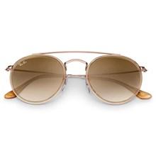 Óculos de Sol Ray-Ban Round Double Bridge RB3647N 9070/51 51