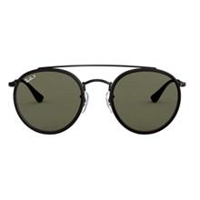 Óculos de Sol Ray-Ban Round Double Bridge RB3647NL 002/58 51