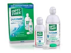 Opti-free Pure Moist 420ml - Solução para lentes de contato