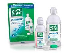 Opti-Free Pure Moist solução para lentes de contato 420ml