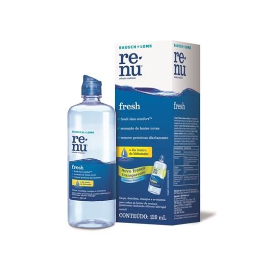 Renu Fresh 120 ml - Solução para lentes de contato