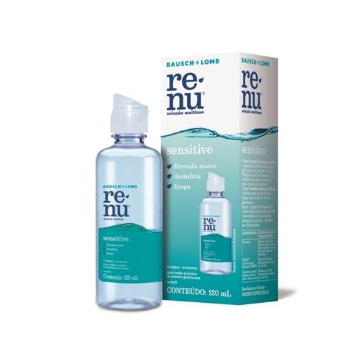 Renu Sensitive 120 ml - Solução para lentes de contato