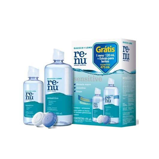 Renu Sensitive 475 ml - Solução para lentes de contato